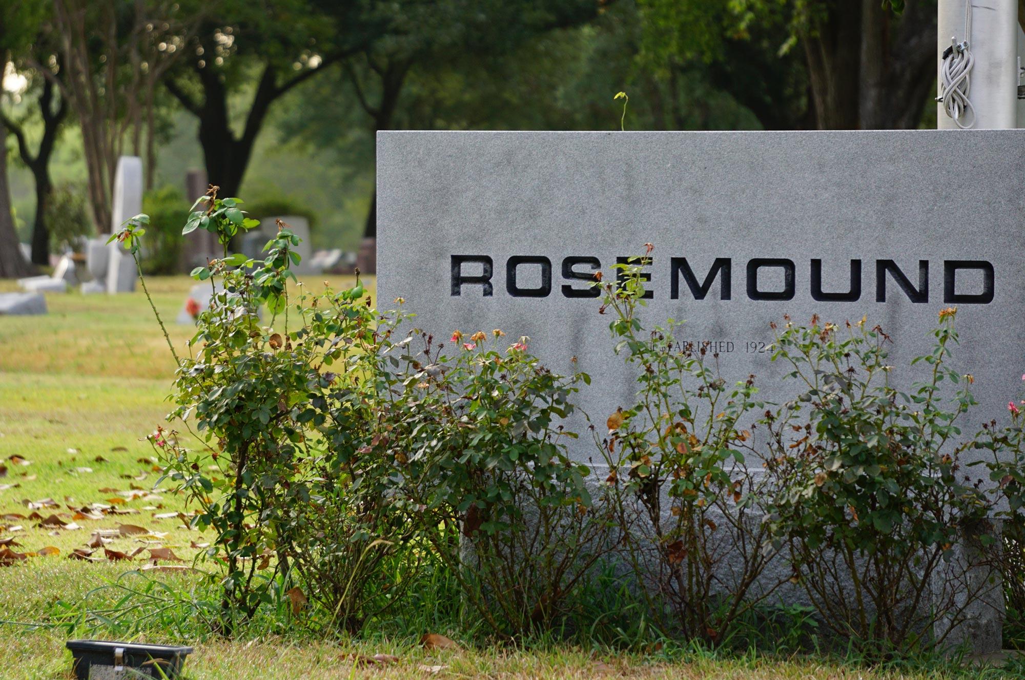 Rosemound Cemetery - background image